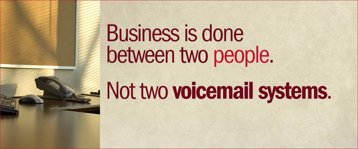 Not Voicemail